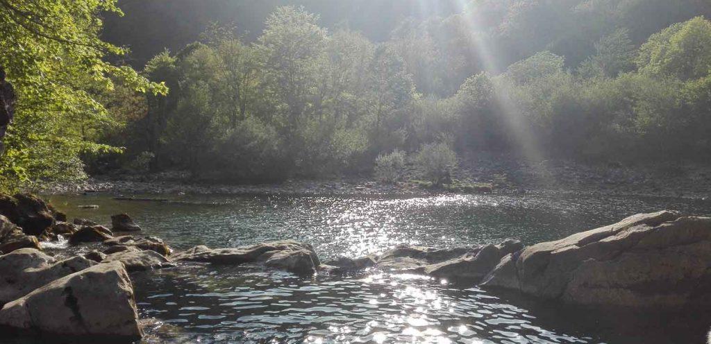 Poza del Dobra / Olla de San Vicente, Amieva (Asturias)