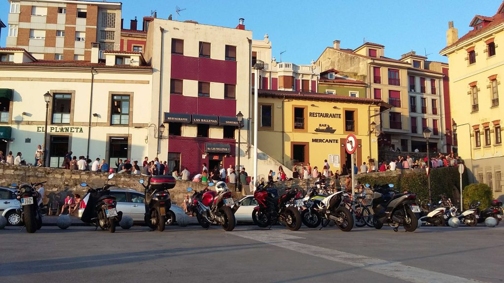 Cuesta del cholo. Gijón
